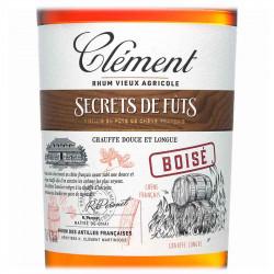 Secrets de Fûts Boisé | Rhum Vieux Clément | Cadeaux Clients