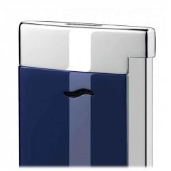 Slim 7 Bleu et Chrome   Briquet S.T. DUPONT   Cadeaux Homme - Femme