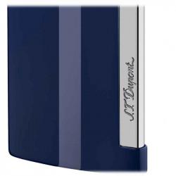 Slim 7 Bleu et Chrome   Briquet S.T. DUPONT   Cadeaux Homme