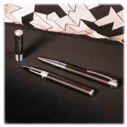 Stylo Roller D-Initial Noir Mat | S.T. DUPONT | Cadeaux Homme Femme