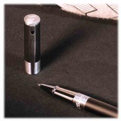 Stylo Roller D-Initial Noir Mat | S.T. DUPONT | Idées Cadeaux Homme