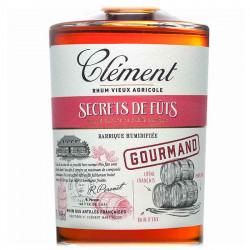 Secrets de Fûts Gourmand   Rhum Vieux Clément   Cadeau Homme